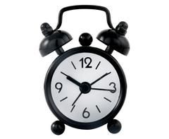 Mini Twin Bell Alarm Clock-AC042B