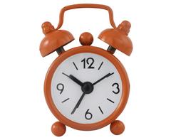 Mini Twin Bell Alarm Clock-AC042O