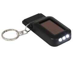 Solar LED Light & Emergency Whistle Keyring-P2317B