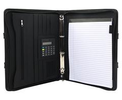 Crescent Ziparound Folder-P2327B