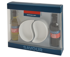 Olive Oil & Balsamic Vinegar Dip Set-P2344